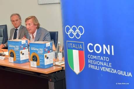 Cerimonia consegna defibrillatori - Udine 18 luglio 2019
