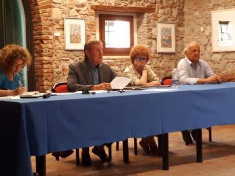 Riunione Consiglio regionale CONI - Moimacco, 22/07/2019