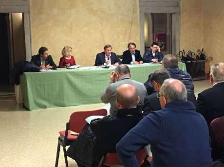 Riunione Consiglio regionale CONI - Udine 11.12.2017